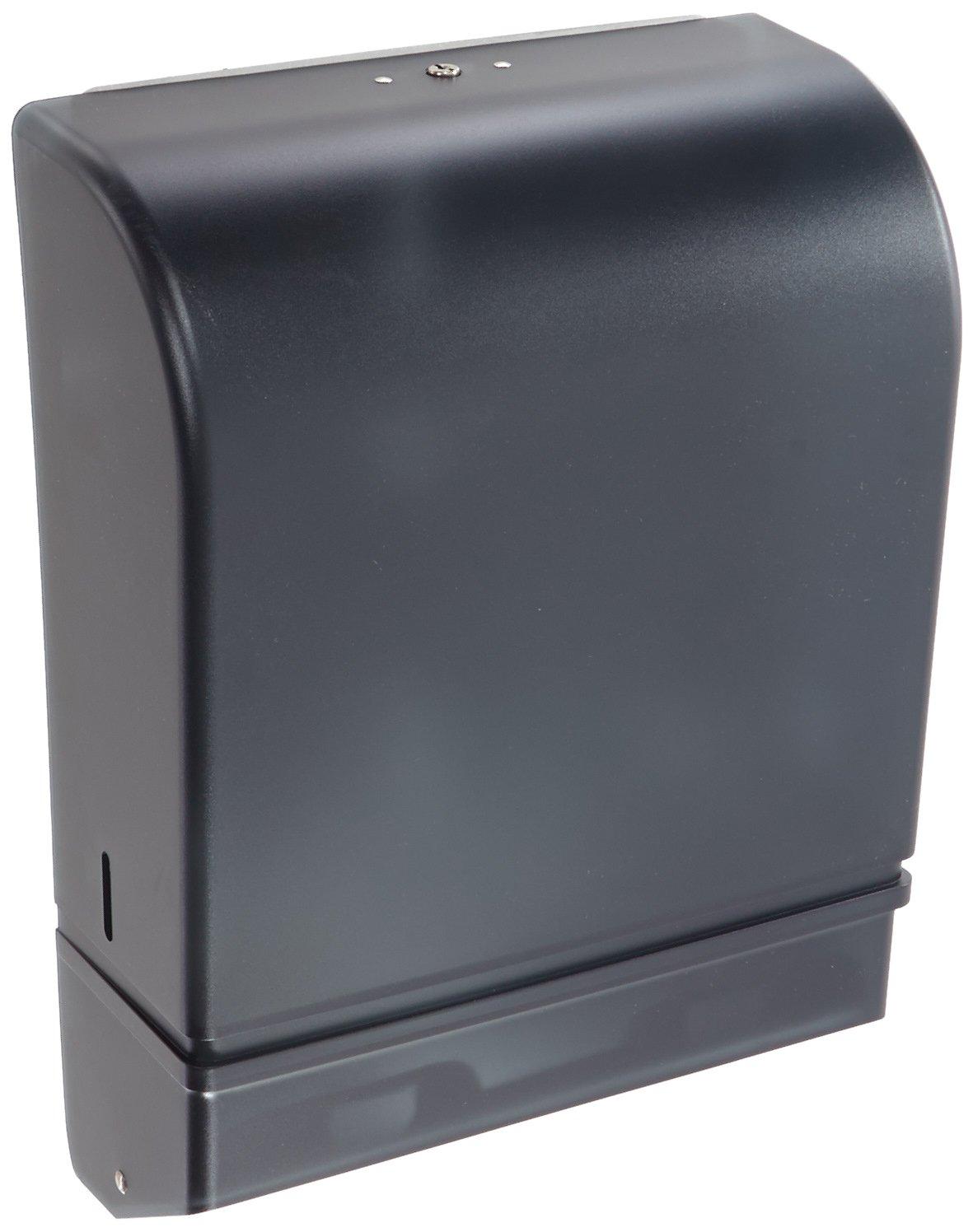Impact 4089 ClearVu Combo Towel Dispenser, 15-3/4'' Length x 10-1/2'' Width x 8-3/4'' Height, Smoke (Case of 6)
