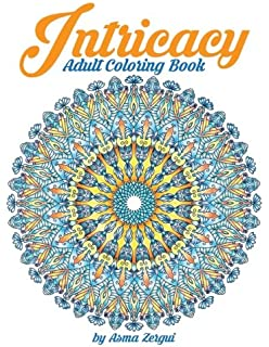 Intricacy Adult Coloring Book