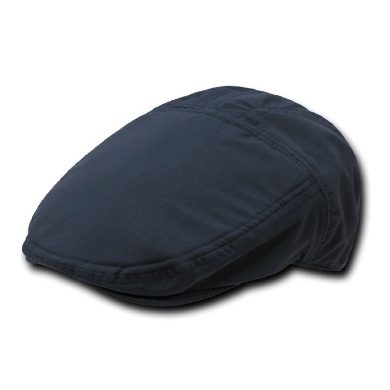 Navy Blue, Sm//Med DECKY Brushed Poly Ivy Cap Hat