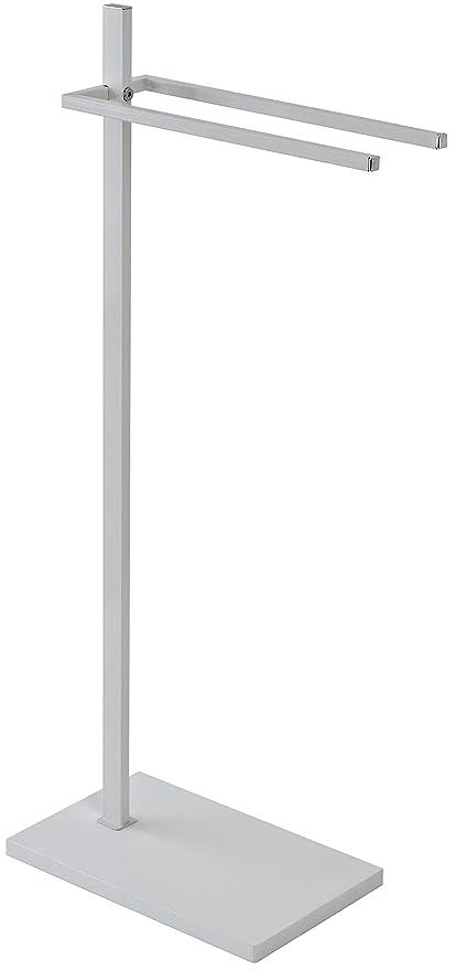 FERIDRAS 154035 pie toallero, Blanco, 20 x 35 x 86 cm
