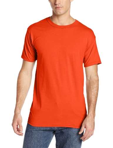 Soffe Men's Hero Made In The Usa Crew Neck Tee Ft Benning Clay Large