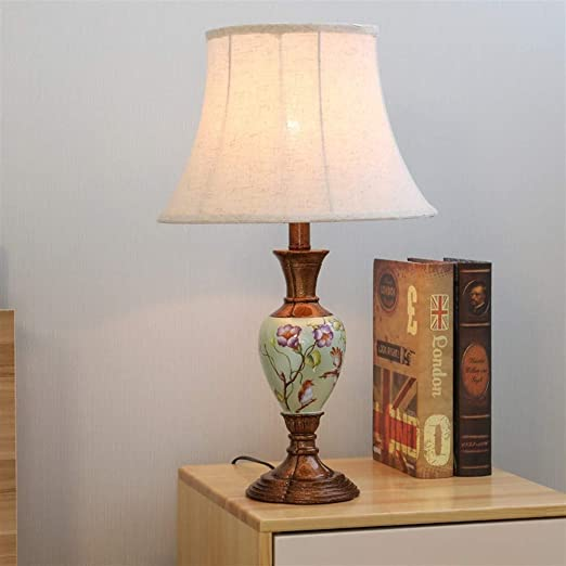 Floor lamp bedroom American country