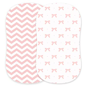 Adorable Unisex Patterns /& Fitted Elastic Design Cuddly Cubs Diaper Changing Table Pad Cover Set For Baby Girl Soft /& Breathable 100/% Jersey Cotton Cute Nursery /& Cradle Bedding Sheets 2-Pack