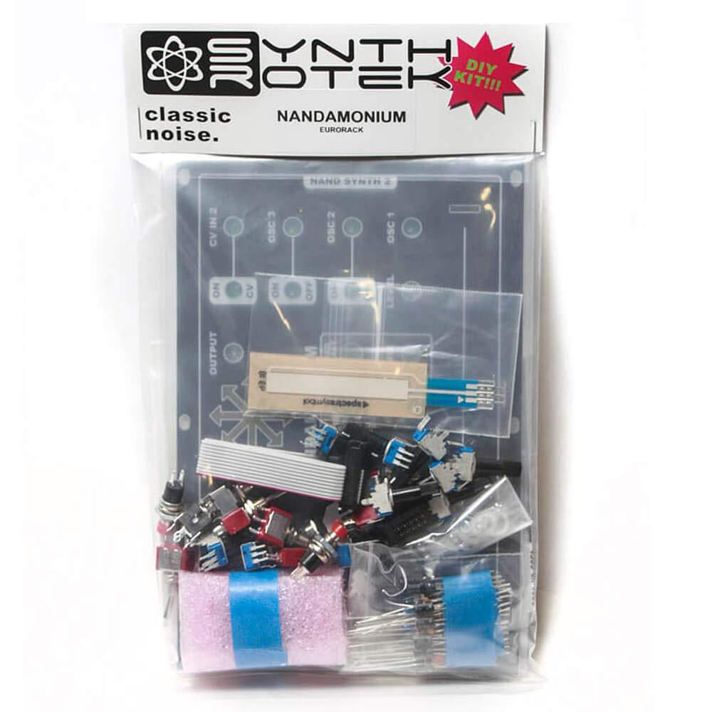 Nandamonium DIY Kit - Eurorack by Synthrotek