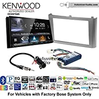 Volunteer Audio Kenwood DDX9704S Double Din Radio Install Kit with Apple Carplay Android Auto Fits 2000-2003 Nissan Maxima (With Bose)