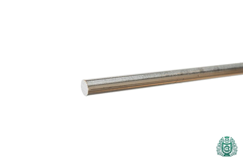 1.4301 // Aisi - 304 // V2A 0.5Meter Edelstahl Stange 4mm Rundstab Vollwelle gezogen