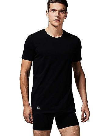 Lacoste Shirt Cn Double Choix Au Couleur Homme T Unicolore Tee Pack Col Rond 80kXnNwOP