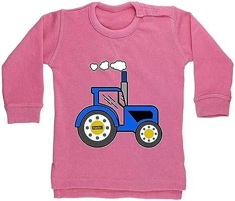 Hariz - Suéter para bebé, diseño de tractor, color azul Algodón de ...