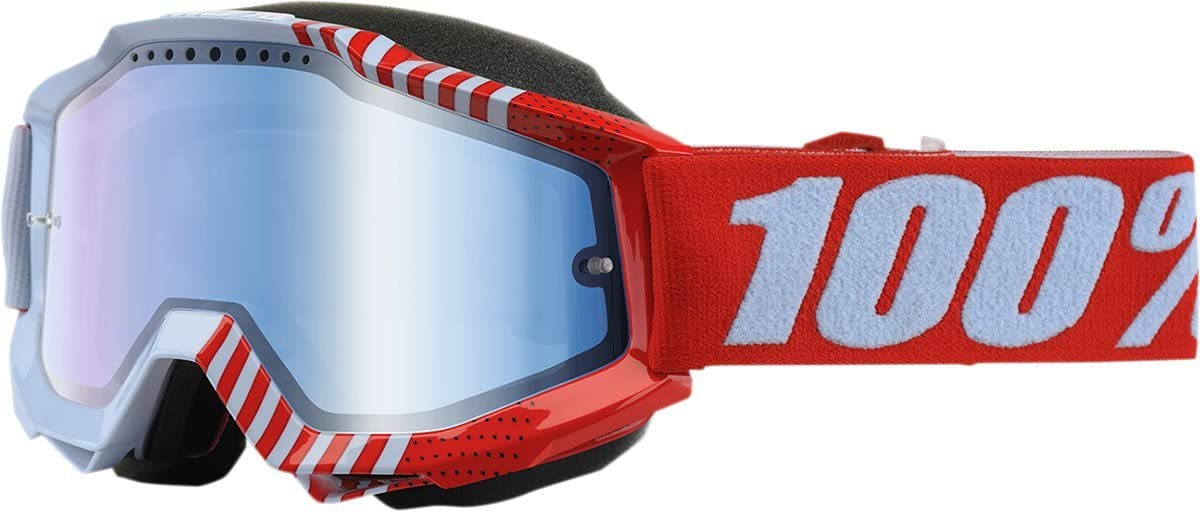 100% Accuri Cupcoy Mirror Snowmobile Goggles