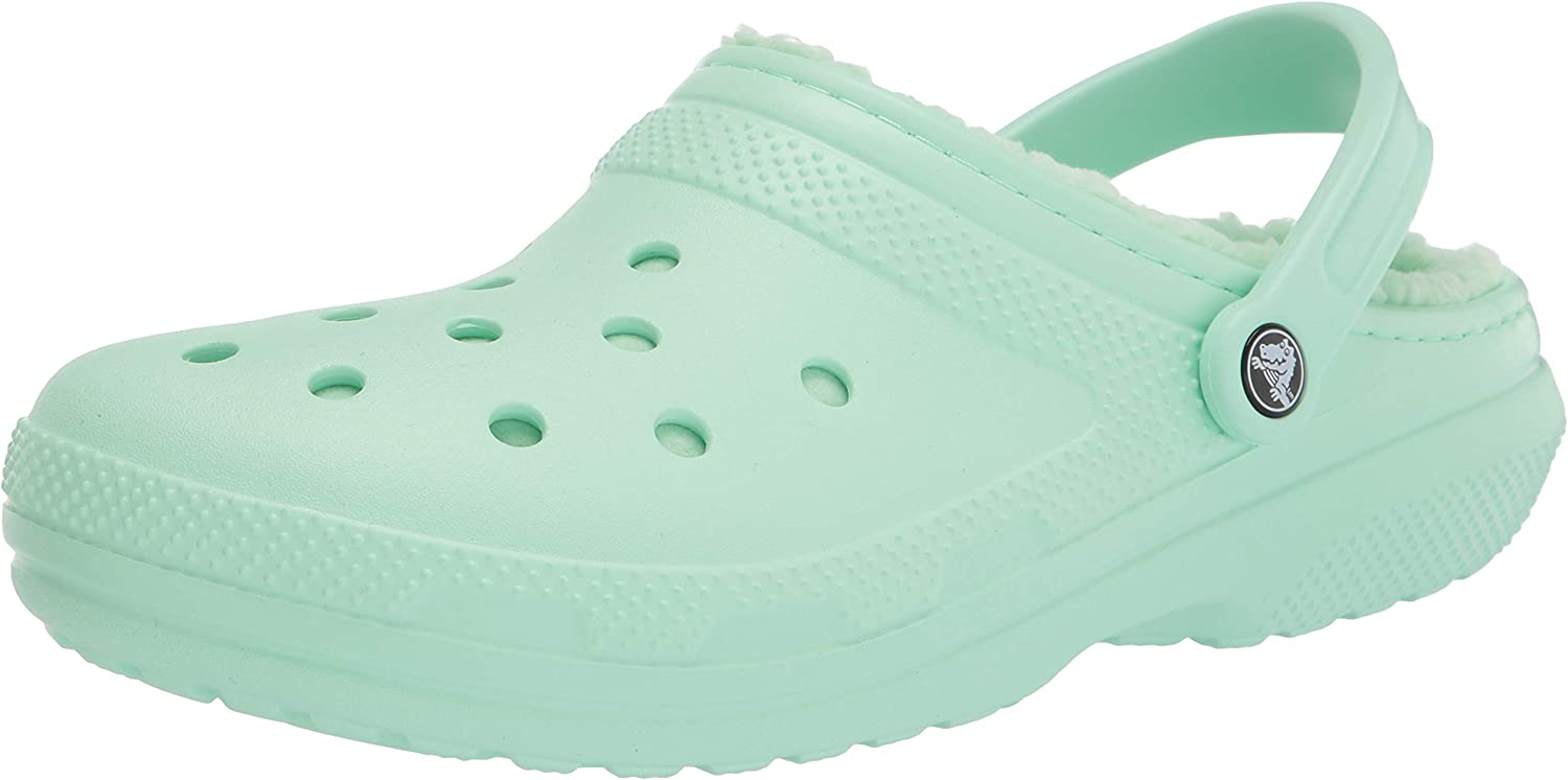 Warm and Fuzzy Slippers Crocs Mens and