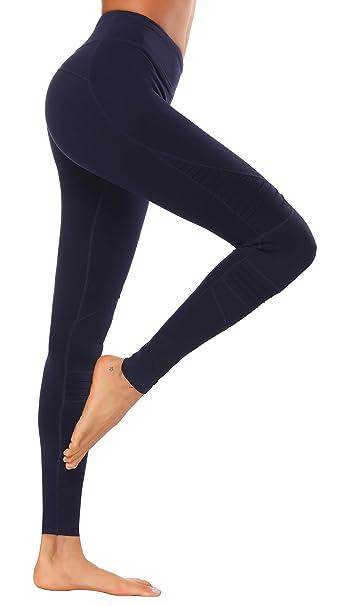 X-HERR Mujer Pantalones Leggings Deportivos - Leggins Yoga ...