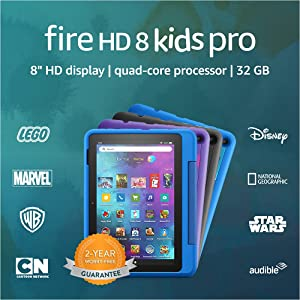 Introducing Fire HD 8 Kids Pro tablet, 8