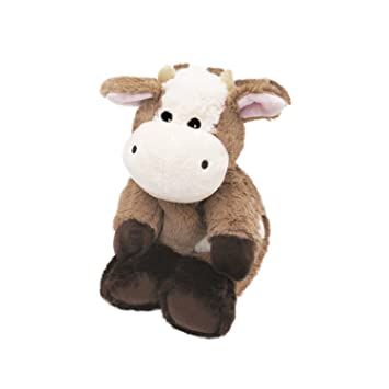 WARMIES Plush Cow Heat Pullout