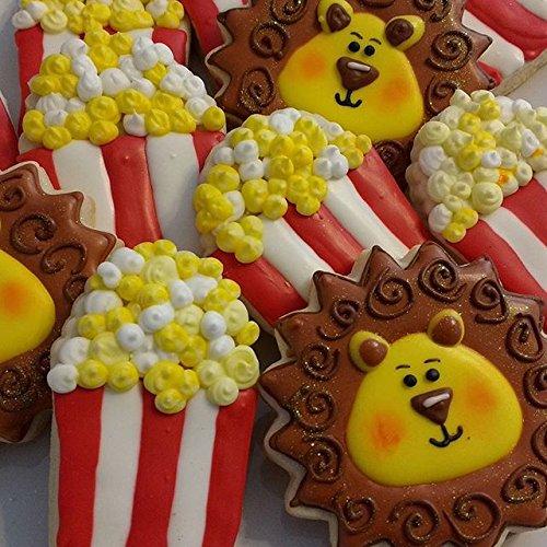 Big Popcorn Cookie Cutter- LARGE