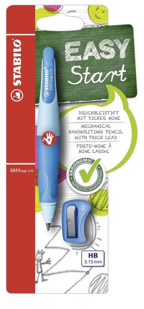 STABILO EASYergo START - Portaminas ergonómico - Cue (M1ME)