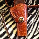 "Texas Ranger ..38/.357cal Cowboy Western 6"" Holster Rig"