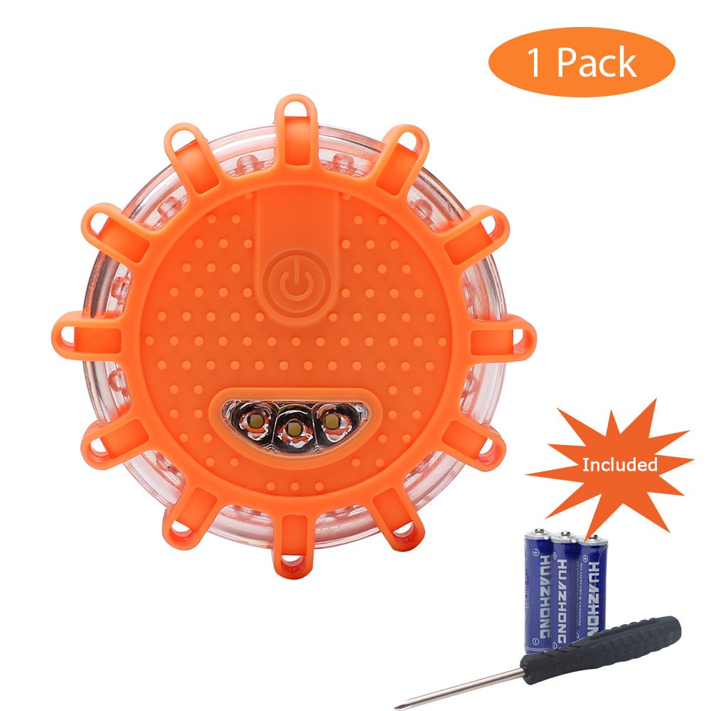 Camping & Hiking Back To Search Resultssports & Entertainment Led Road Flares Red Safety Flashlight Beacons Riding Vehicle Rechargeable Flashing Warning Lights Roadside Emergency Disc Beacon