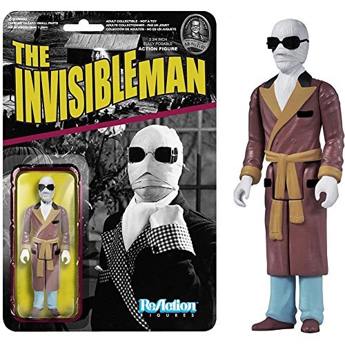 Funko Universal Monsters Series 2 - Invisible Man ReAction Figure by FunKo