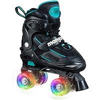 Mongoose Ajustable Quad Roller Skate-–Tamaños 1–4