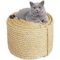 6MM Jute Touw voor Reparatie en Vervanging van Katten Krabpaal, Kat Boom, Kat Krassen Pad/Mat/Kicker Speelgoed, Pijp…