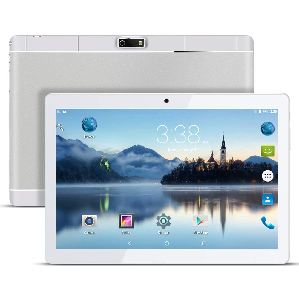 Qimaoo Tablette Tactile 10.10' -Android 7.0,4G/WiFi,2GO RAM+32GO ROM,Huit Core Doule SIM, Bluetooth,GPS,OTG,FM