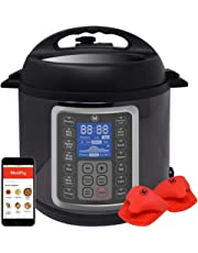 Mealthy MultiPot 9-in-1 Programmable Pressure Cooker with Stainless Steel Pot, Steamer Basket, Full Accessory Kit & Recipe App. Pressure Cook, Slow Cook, Sauté, Egg, Rice Cooker, Yogurt, Steamer, Hot Pot