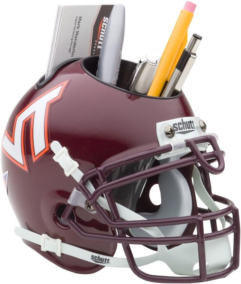 Schutt NCAA Virginia Tech Hokies Football Helmet Desk Caddy