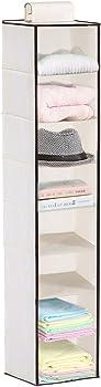 MaidMAX 8-Shelf Hanging Closet Organizer