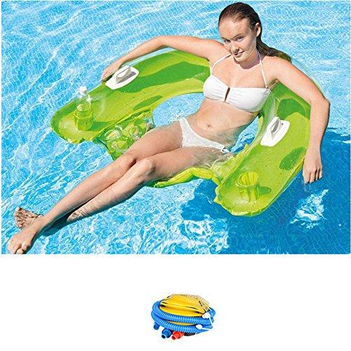 Flottant Ligne Flottant Lit D'Eau Rafting Chaise De Surf Lit Gonflable Monter Nager Anneau Équipement De L'Eau Lit XXBB