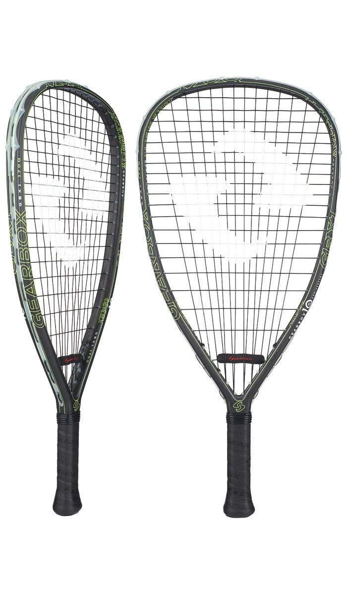 Gearbox GBX1 170 Quad Racquetball Racquet (Yellow)
