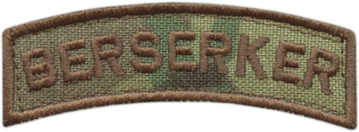 2AFTER1 Multicam Viking Shoulder Tab Norse Heathen Army Military Morale Tactical Touch Fastener Patch