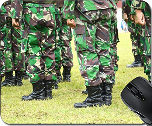 MSD Mousepad Mouse Pads/Mat design 26151932 the row stepped foot march - Ms Guard Column