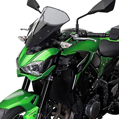 LIWIN Moto Accessori For Kawasaki Z900 2017 2018 2019 2020 Accessori Moto schermo parabrezza Parabrezza carenatura Color : Black