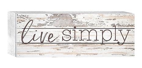P Graham Dunn Love Never Fails Mason Jar Floral Whitewash 8 x 6 Solid Wood Boxed Pallet Plaque Sign