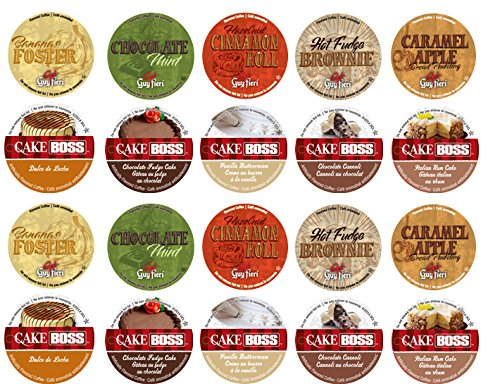 20 Cup Cake Boss® & Guy Fieri® Flavored Coffee Sampler! 1...
