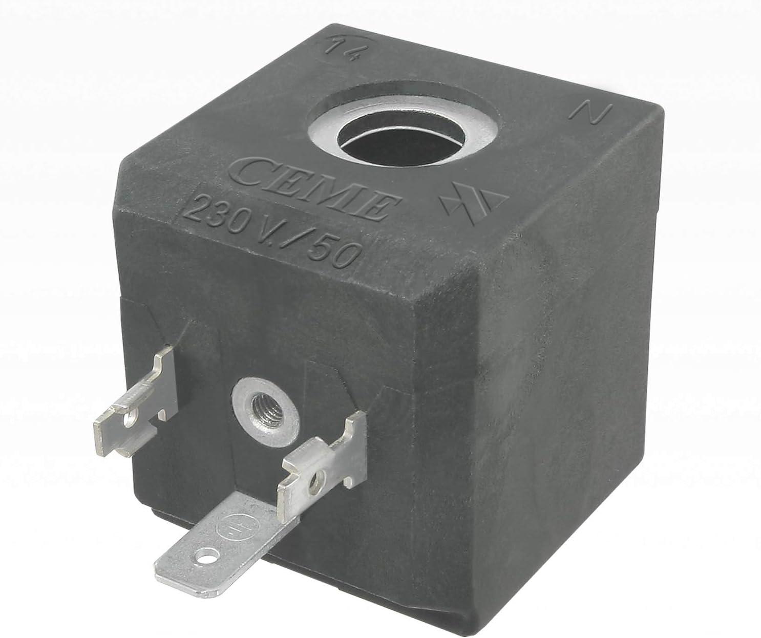 ceme 688magnético Válvula Bobina 230V/50Hz 17VA/para estación de planchado, vapor limpiador