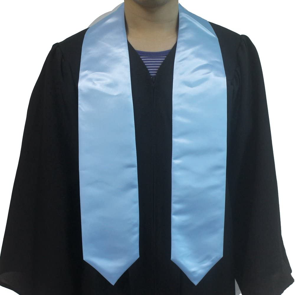 15 Colors 60Long Annhiengrad Graduation Stole for Academic Commencements Adult