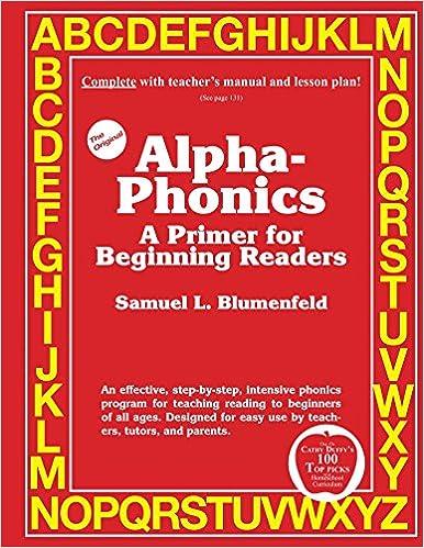 Alpha-Phonics: A Primer For Beginning Readers: Samuel L ...