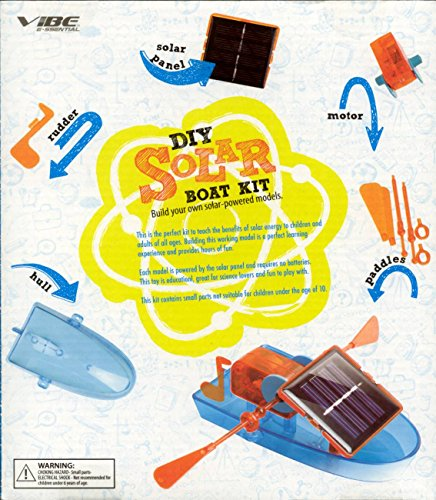 VIBE DIY SOLAR BUILD YOUR OWN SOLAR POWERED BOAT MODEL KIT by Vibe (Image #1)