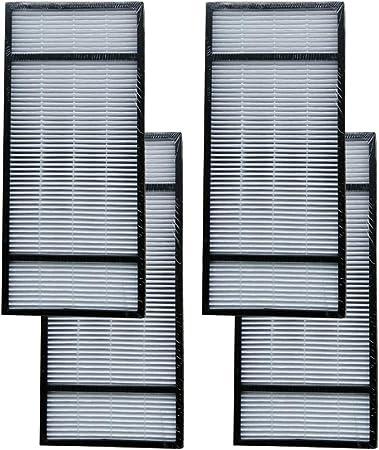 Mumxaun 4 piezas de repuesto para filtro Honeywell True HEPA ...