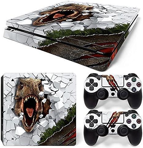 46 North Design Ps4 Slim Playstation 4 Slim Pegatinas De La ...