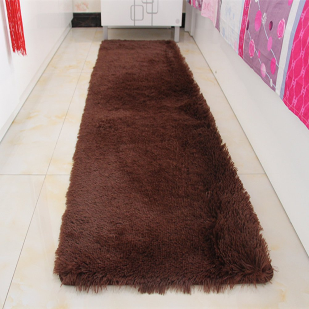 Door mat,Gate pad,Rug,Could be washed by water,Thicken,Long cashmere,Hair mats,Bedroom,[bedside],Bay window mats,Balconies mats-L 160x230cm(63x91inch)160x230cm(63x91inch)