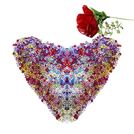 chen-guo pecera beadsvase Filler cuentas para casera Slime, hogar decorativo, boda y