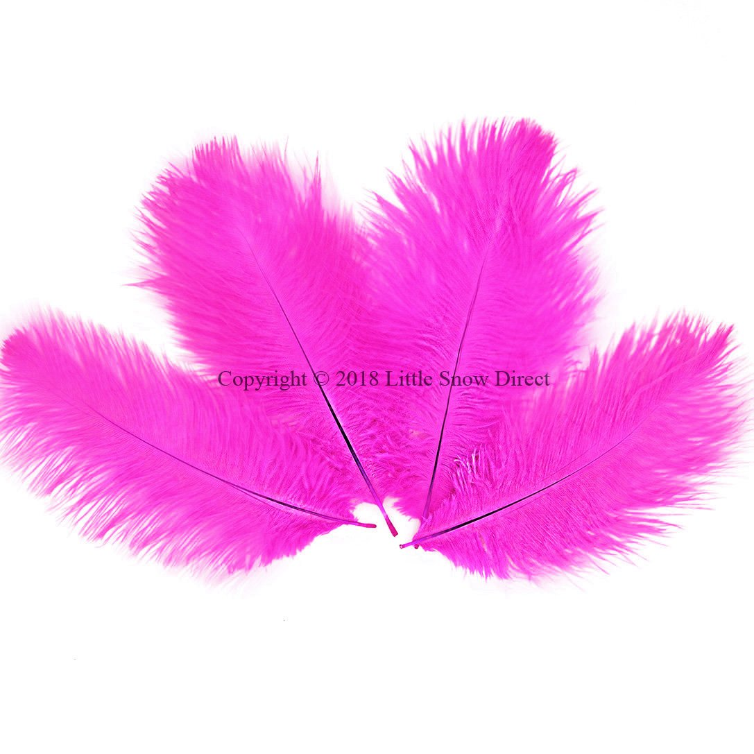 """5 pcs Ostrich Feathers Millinery /& Crafts 6-8/"""" Lilac"""