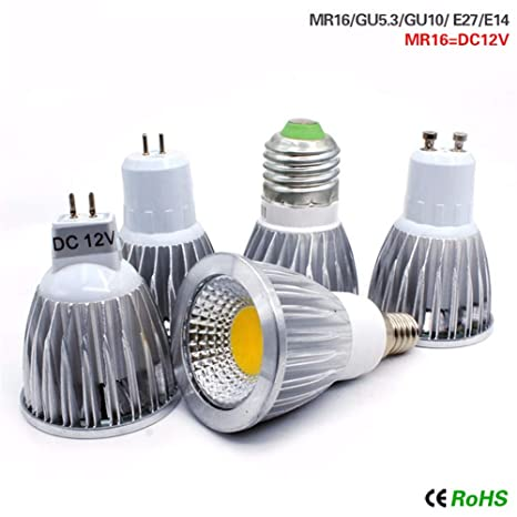 Bombilla Bombillas Incandescentes4 / Pack Foco Led Luces Led Bombilla Blanca Cálida Lampada Lámpara Led,