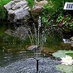Sunspray� SE 360 solar fountain for s...