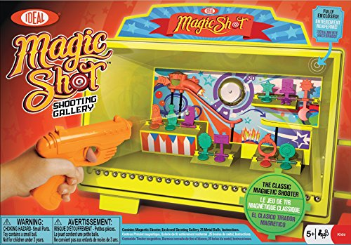 Ideal Magic Shot Magnetic Shooting Gallery (Rebound Game)