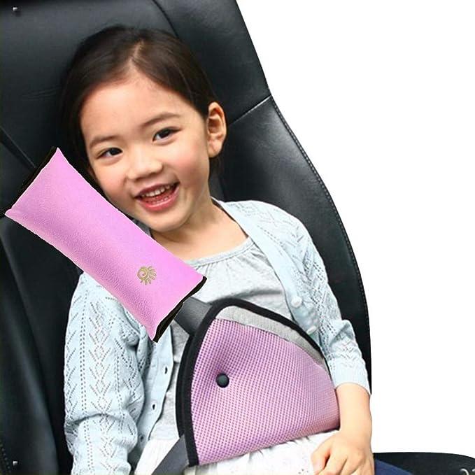 fghdf Universal Children Kids Car Seat Belt Harness Safety Shoulder Strap Covers
