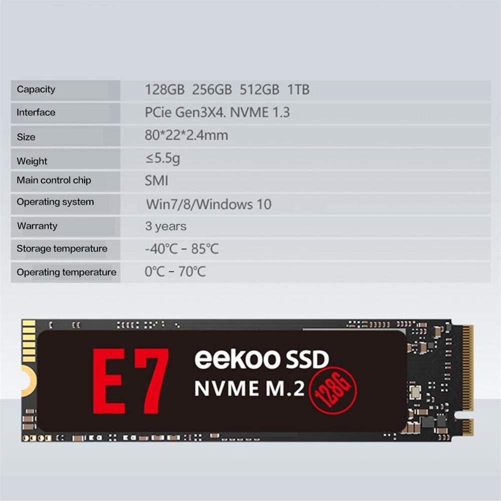 Rlorie Disco Duro Interno para Eekoo NVME M.2 SSD para Disco Duro ...