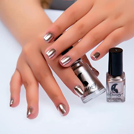 IGEMY Stainless Steel Mirror Nail Polish 6ml: Amazon.in: Beauty